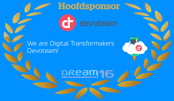 Hoofdsponsor DREAM16